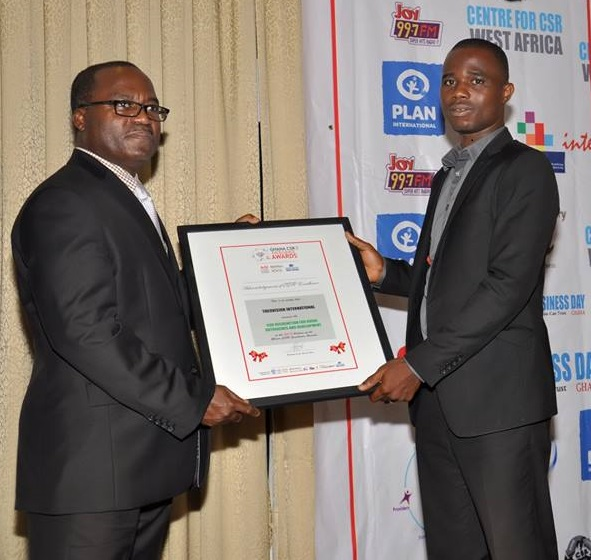 THEOVISION INTERNATIONAL RECEIVES EXCELLENCE AWARD
